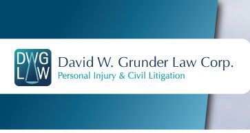David W. Grunder Law Corp. Personal Injury & Civil Litigation